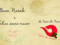 Buon Natale e felice anno nuovo da Teatro dei Navigli!