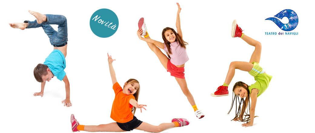Danza acrobatica per bambini